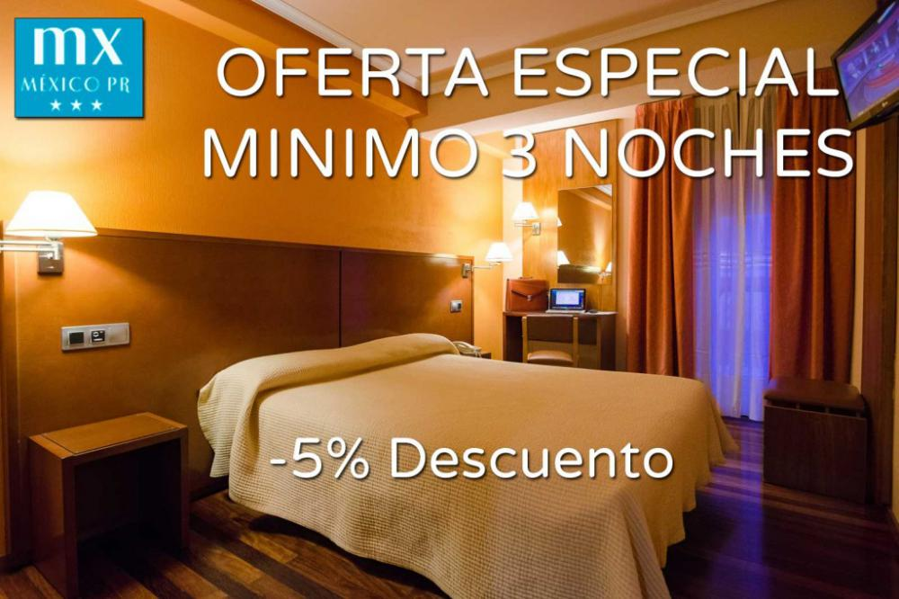 OFERTA ESTANCIA MÍNIMA 3 DÍAS. -5%